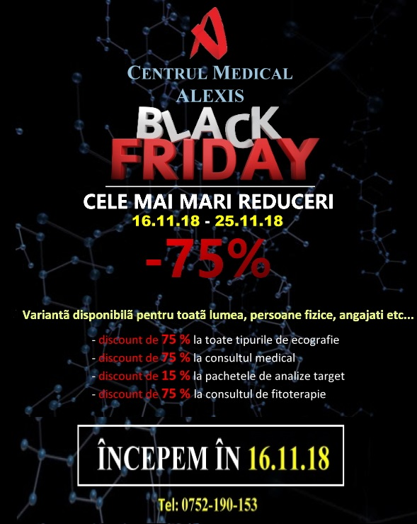 - BLACK FRIDAY pf incepem in 16 - 16.11.2018 – 00.00