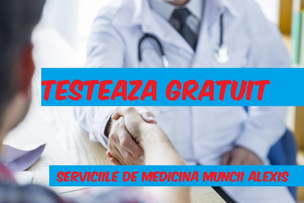 testeaza gratuit serviciile de medicina muncii ale Centrului Medical Alexis servicii medicale - TESTEAZA GRATUIT SERVICIILE MEDICINA MUNCII ALEXIS - Testeaza gratuit servicii medicale de medicina muncii in Bucuresti