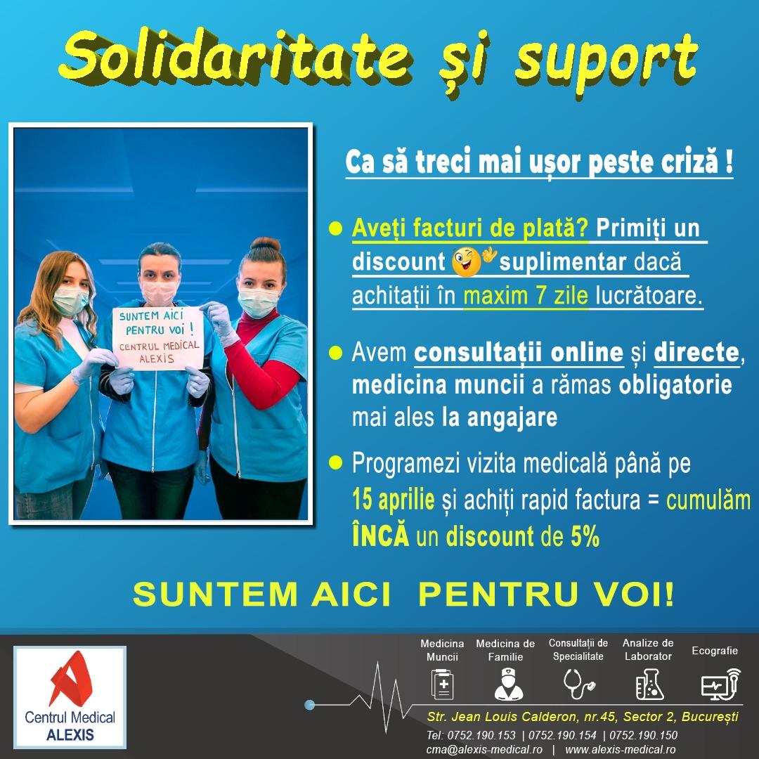 - solidaritate si suport Cm Alexis Bucuresti - Măsuri de solidaritate Alexis