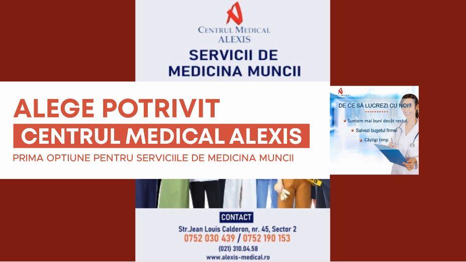 - prima optiune medicina muncii CM Alexis Bucuresti - Medicina muncii și personalul care desfășoară telemunca