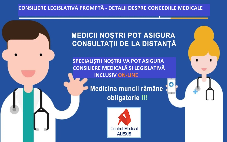 - CONSILIERE CONCEDII MEDICALE CM Alexis - Casa de Asigurări de Sănătate a Municipiului București – Informații depunere documentație online angajatori – concedii medicale