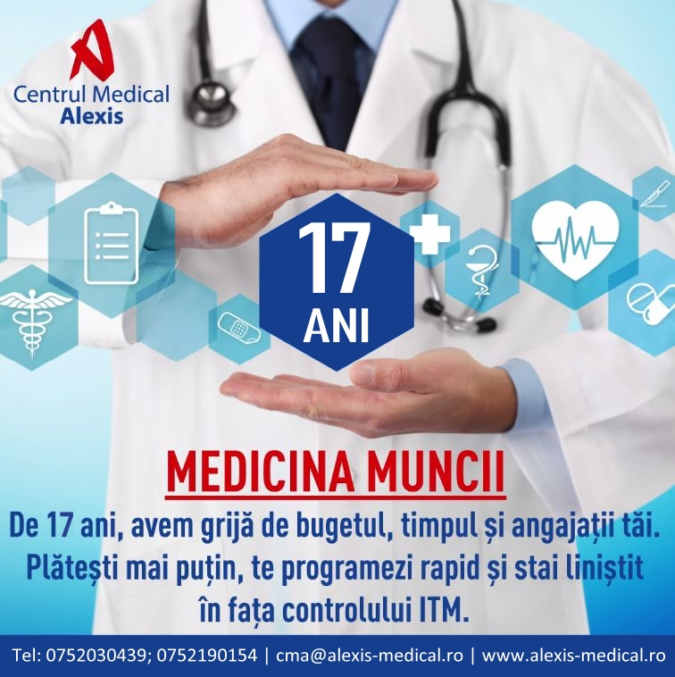 - 17 ani CM Alexis - Medicina-muncii si perioada de proba